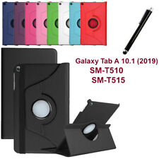 "New Case For 2019 Samsung Galaxy Tab A 10.1"" T510 T515 Leather 360 Smart Cover"