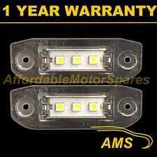 2X FOR VOLVO C70 V60 S60 XC60 XC70 V70 XC90 3X SMD5050 LED NUMBER PLATE LAMP