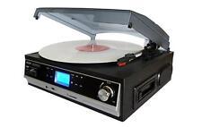 Boytone BT-16DJB-C Record Player Turntable Built-In Speakers Cassette SD USB NEW