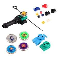 Beyblade Metal Masters Fusion Rotate Rip cord Launcher Beyblades Battle Set K;
