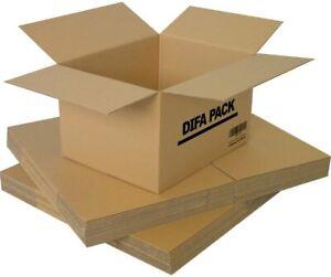 Pack de 12 / 20 / 24 / 30 Cajas de Cartón - Alta Calidad - Cajas para Mudanzas