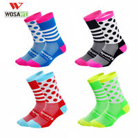 New Professional Cycling Socks Wicking Sock Breathable Outdoor Road Bike Bicycle