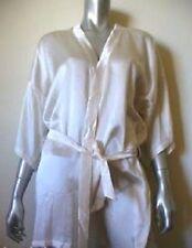 White Silk Robe (100% Genuine Silk) RRP$109 SALE 40% OFF