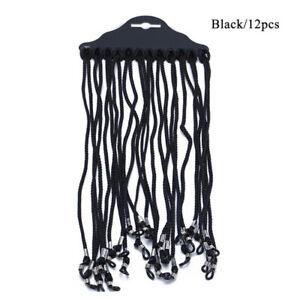 12PCS Adjustable Neck Cord Strap String Lanyard For Eyeglass Glasses Sunglasses