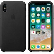 OEM Apple iPhone XS Max Leather Case - Black MRWT2ZM/A