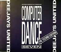 Deejays United Maxi CD Dance Computer Seven - Germany (M/EX)