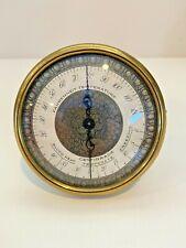 Vintage Longines Wittnauer Weather Key Temperature Instrument (Brass)