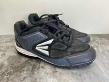 Easton Shoes 360 Baseball Football Cleats Black White Charcoal Men Size 11