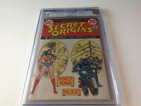 SECRET ORIGINS 3 CGC 9.6 WONDER WOMAN WILDCAT NICK CARDY DC COMICS 1973