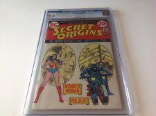 Secret Origins 3 Cgc 9.6 Wonder Woman Wildcat Nick Cardy Dc Comics 1973