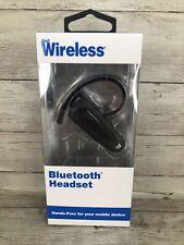 New listing Just Wireless Bluetooth Wireless Headset Handsfree One-Ear Headphone Earbud