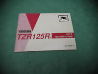 HANDBUCH YAMAHA TZR 125 1993 1994 ( (int.B*) MANUEL MANUAL BEDIENUNGSANLEITUNG