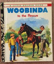 Woobinda To The Rescue ~ Vintage Little Golden Book Sydney 457