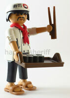 Playmobil Japanese Cook Sushi Chef w/ Tray Chopsticks Mystery Series 13 9332 NEW