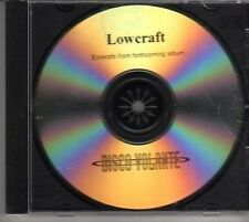 (BM675) Lowcraft, album sampler - DJ CD