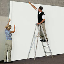 Seamless Paper WHITE  measures 9 feet 36 feet and is colored on both sides