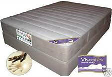 Queen/Dble/King Latex Gold & Visco Zoned Suede Mattress