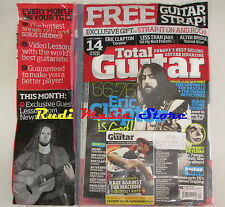TOTAL GUITAR Magazine 179 2008 +CD Eric Clapton Slipknot Def Leppard Brit Spirit