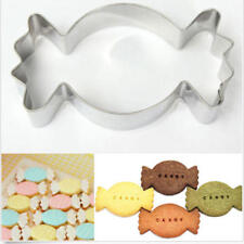 Stainless Steel Candy Shape Cookie Cutter Biscuit Cake Kitchen Baking Molds DIY