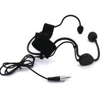 Black Pro Headset head worn wearing Microphone For Sennheiser G1 G2 G3 wireless