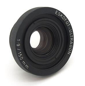 Eskofot Ultragon 150mm F9 Large Format Reproduction Lens & Ring - UK Dealer