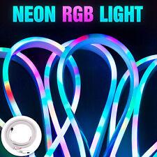 Addressable RGB LED Neon Pixel Light Sign Rope Lamp Band SK6812 WS2811 DC 5V 12V
