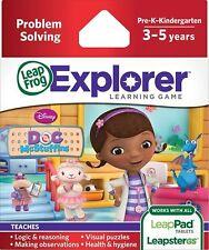 LeapFrog Disney Doc McStuffins Explorer Learning Game