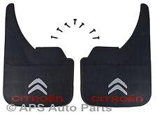 Universal Coche mudflaps logotipo delantero trasero Citroen C1 C2 C3 C4 C5 C6 Protector de solapa de barro