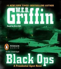 16 CD, BLACK OPS by W. E. B. Griffin, UNABRIDGED, PLUS SEE MY DVD & TV SERIES