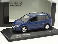 Minichamps 1/43 - VW Touran CrossTouran Bleue