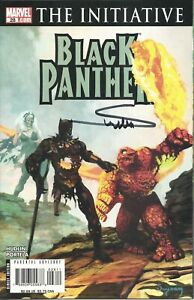 BLACK PANTHER #28 MARVEL ZOMBIES COVER SIGNED BY ARTHUR SUYDAM NM UNREAD COA