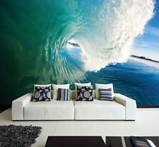 Wall removable sticker Ocean perfect wave sea water vinyl mural