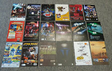 Collection of 28 STAR WARS Ads ~ 2000s ~ Clone Wars, Episode III, TV, Video Game