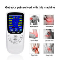 Electric Stimulation Massage Tens Unit Machine Muscle Therapy Pain Relief Gift
