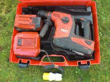 Hilti Full Kit TE30A 36 V Cordless Hammer Drill Bits 2 x 6.0 100% Piles