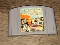 Star Wars Episode I Racer Nintendo 64 N64 Cleaned & Tested Authentic