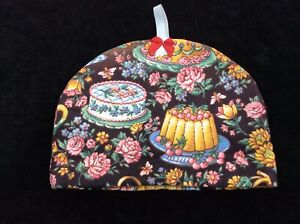 VINTAGE SMALL TEA COSY COVER - Teapot/cake SUIT TEAROOMS £2.50