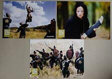 (Z313) Fotosatz +A3 und A1 Pl. HOUSE OF FLYING DAGGERS Ziyi Zhang, Takeshi Kanes