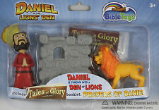 Daniel the Lion's Den Action Figures Tales of Glory NEW 3 Set Story Bible Toys