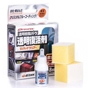 (166,25€/100ml) SOFT99 Nano Hard Clear Reiniger für transparente Kunststoffe 8ml