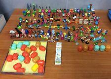 Huge lot of 122 Kinder Surprise Toys