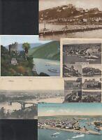 42404) KOBLENZ 5 Stück Heimatbelege Stempel Ansichtskarten vor 1945