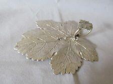 Antique Sterling Silver Georgian Leaf Pattern Canape Server Birmingham 1832 -33