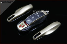 CHAMPAGNE GOLD FOB REMOTE KEY CASE REPLACEMENT FOR PORSCHE BOXSTER CAYMAN MACAN