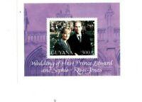 Guyana - 1999 - Prince Edward Wedding - Souvenir Sheet - MNH