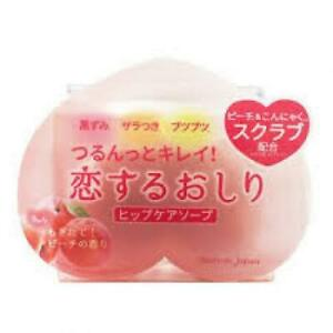 ☀Pelican Soap Hip Care Soap 80g Body Wash Scrab Peach From Japan