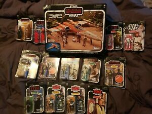 Star Wars Vintage Collection Skywalker Poe Dameron's X-Wing DARTH LUKE + 14 NEW!