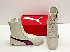 Puma Eskiva High Hi Remaster Off White Purple Fashion Sneakers Shoes Womens 9