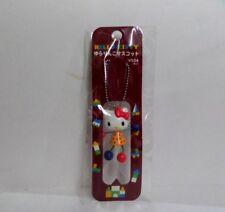 Hello Kitty Dangling Hand & Leg Cell Phone Charm Strap Yellow Dress