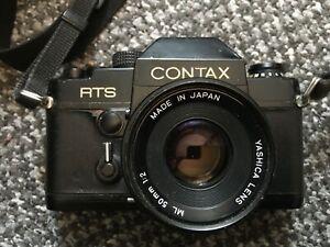 contax rts 35mm camera